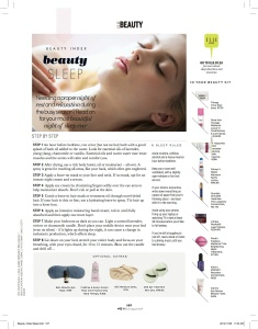 ELLE Beauty Sleep