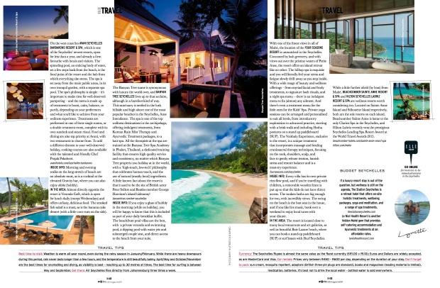 ELLE Seychelles Travel_
