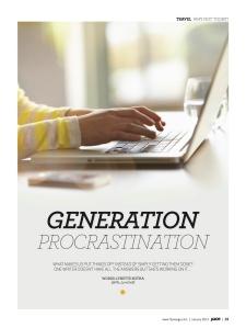 Generation Procrastination_Lynette Botha