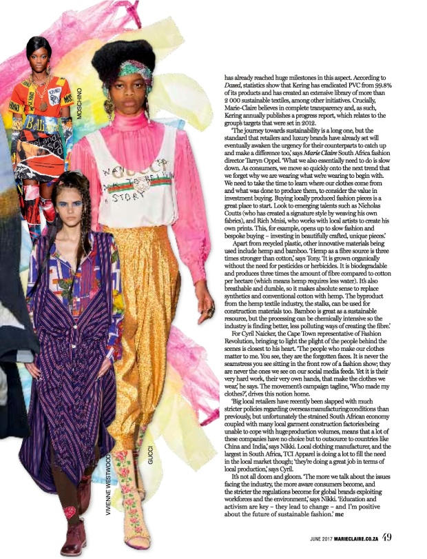 Fashion Report_Marie Claire SA July 4